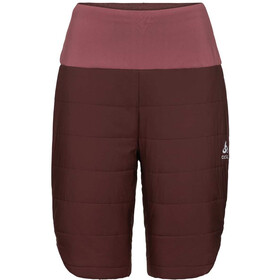 Odlo Millennium S-Thermic Korte Broek Dames, decadent chocolate